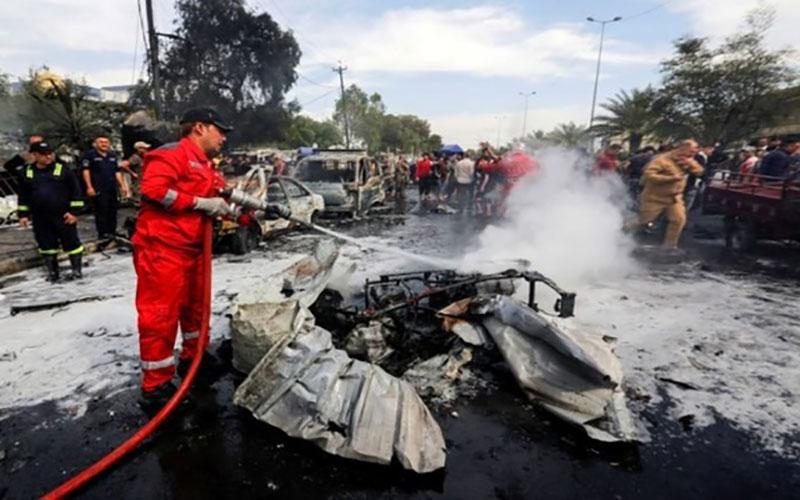 انفجار در صلاحالدین عراق