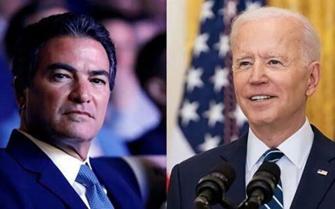 جو بایدن و رئیس موساد