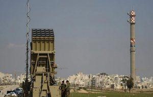 گنبد آهنین اسرائیل پهپاد خودی را سرنگون کرد!