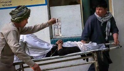 ۱۲ کشته در پی انفجار بمب در مسجدی در شمال کابل