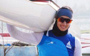 ۲ قایقران ایرانی