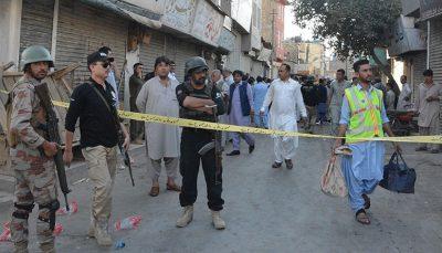 انفجار بمبی در پاکستان