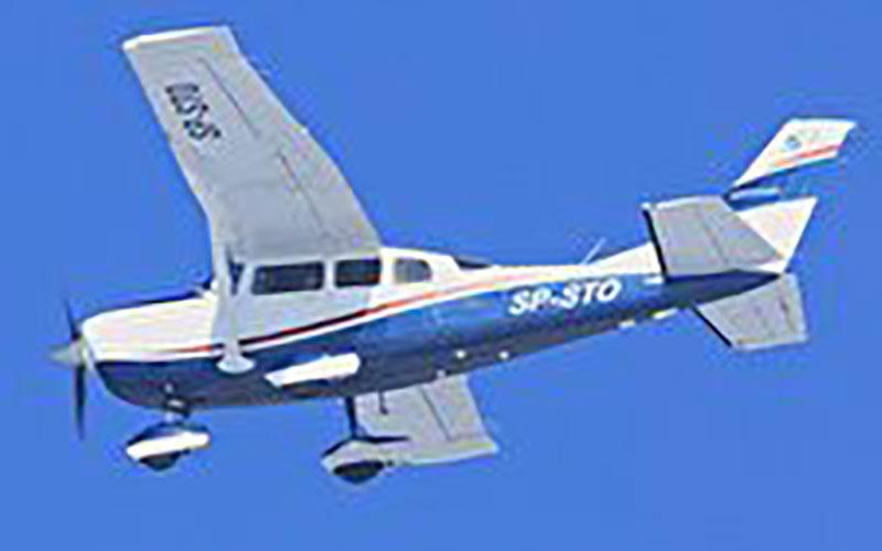 ۷ کشته در سقوط هواپیمای آمریکایی