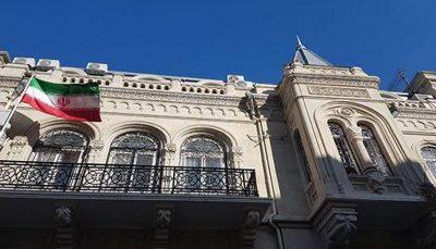 سفارت ایران: کامیونهای ایران در حال ارسال کالا به قرهباغ نیستند