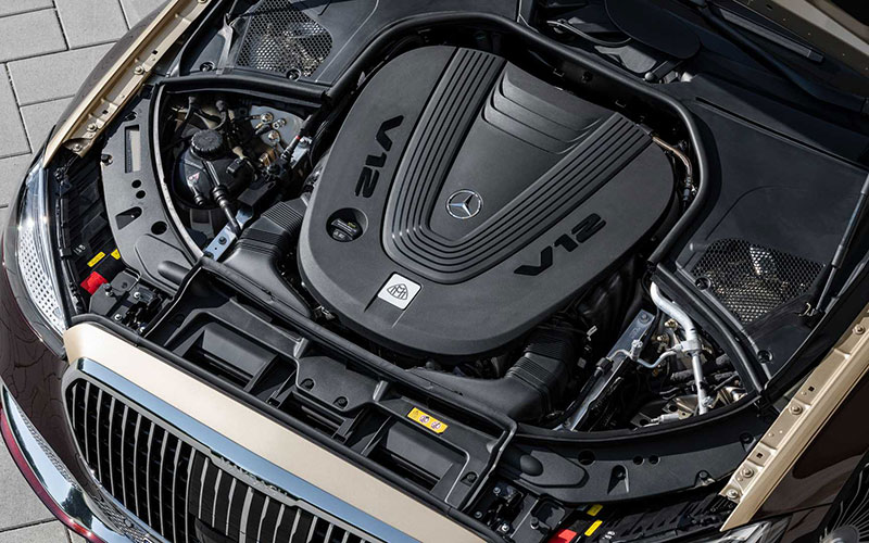 مرسدس میباخ S680 کلاس S مجهز به پیشرانه V12 معرفی شد