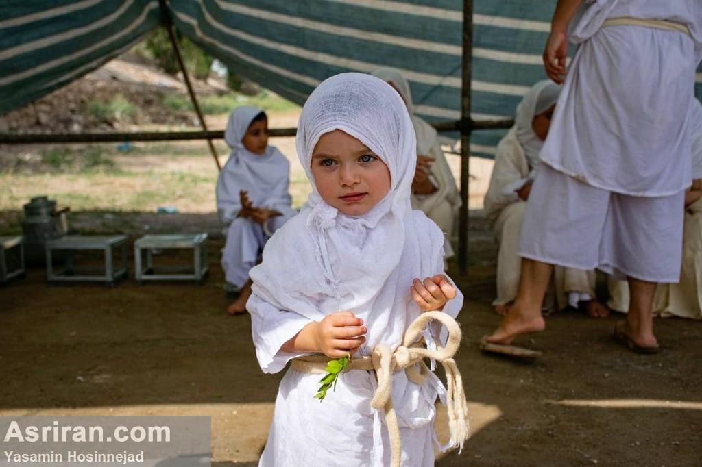 غسل تعمید کودکان مندایی در اهواز / عکس