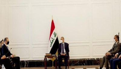 گفتگوی مصطفی الکاظمی و هیات آمریکا درباره خروج از عراق