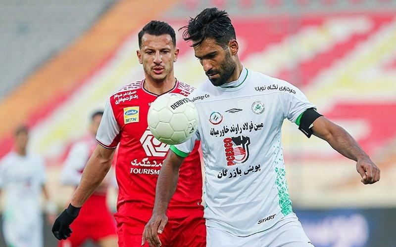موفقیت تیم پرسپولیس مقابل ذوب آهن اصفهان