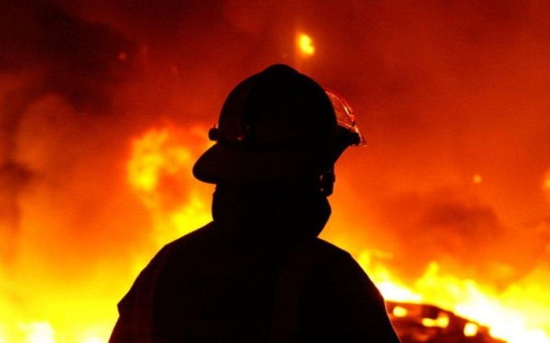 آتش سوزی در اهواز و سوختن 100 درخت نخل