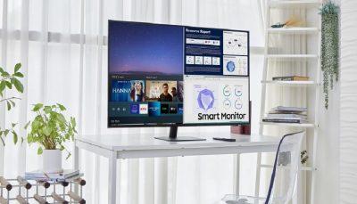 بزرگترین مانیتور سامسونگ با سیستم عامل تایزن معرفی شد
