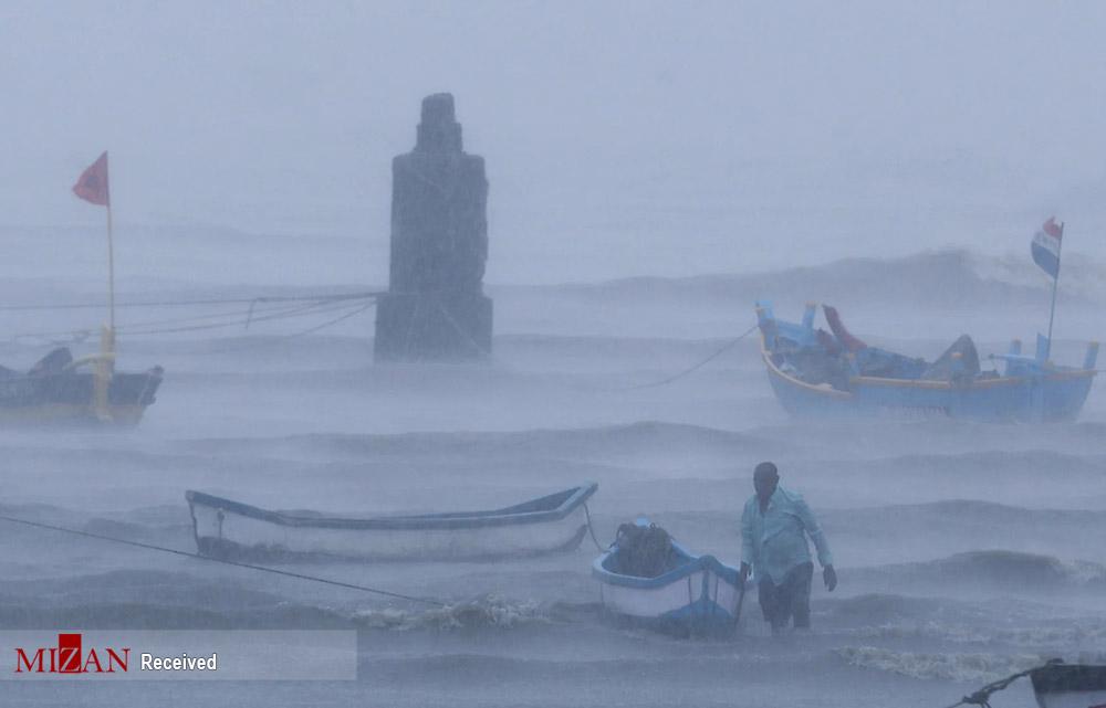خسارات ناشی از طوفان - هندوستان