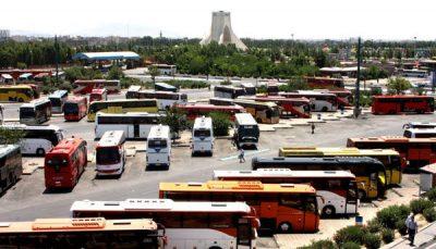 کرایه اتوبوس افزایش یافت