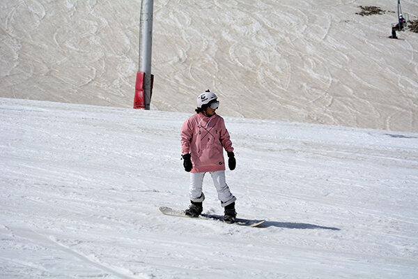 پایان فصل اسکی در پیست توچال/ عکس