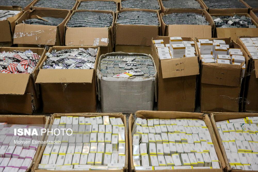 انهدام باند بزرگ قاچاق دارو به خارج از کشور