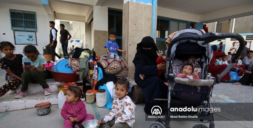 کمبود آب اشامیدنی در غزه