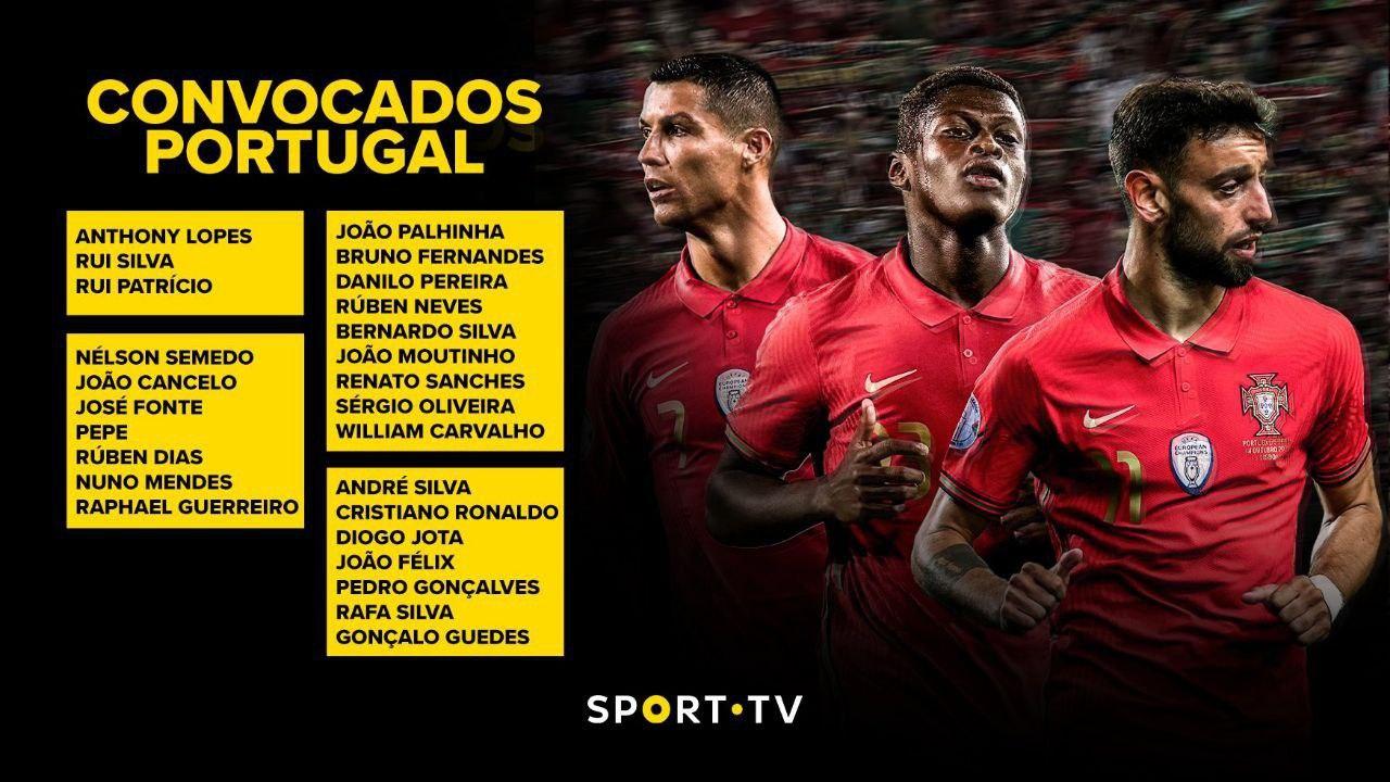 لیست تیم ملی پرتغال برای یورو اعلام شد/ عکس