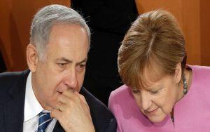 ابراز همبستگی مرکل با اسرائیل و قدردانی نتانیاهو از آلمان