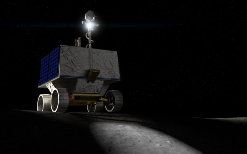 ناسا با چه وسیله ای منابع آبی کره ماه را بررسی می کند؟