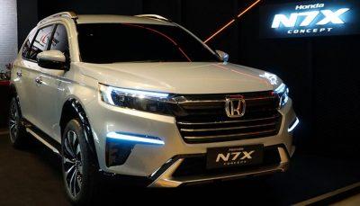 رونمایی هوندا از کراس اوور جدید N7X/ تصاویر