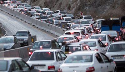 ترافیک سنگین و نیمه سنگین در جنوب به شمال