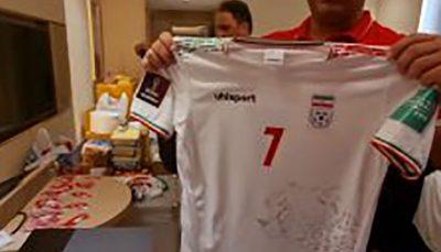 آماده شدن لباسهای تیم ملی برای بازی مقابل بحرین