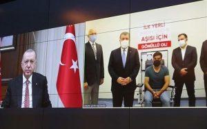 اردوغان، واکسن کرونای ملی ترکیه را «تُرکوواک» نامید