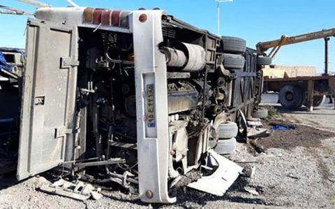 اطلاعیه پلیس درباره علل دو حادثه اتوبوس خبرنگاران و سربازان