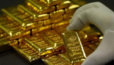 افت قیمت جهانی طلا به پایینترین سطح ۱۱ هفته اخیر
