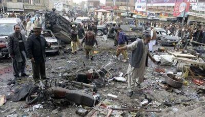 انفجار بمب در لاهور پاکستان