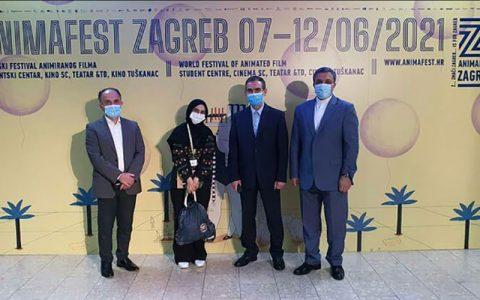 اکران فیلم «دیوار چهارم» در جشنواره انیمافست زاگرب