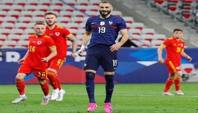 بازگشت موفقیت آمیز بنزما به تیم ملی فرانسه