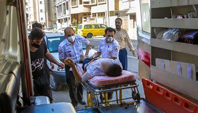 برخورد قطار با عابر پیاده در تهران