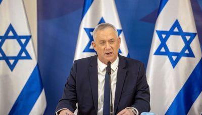 بنی گانتس: گفتوگوی اسرائیل و آمریکا برای مقابله با ایران ضروری است