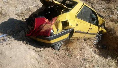 تصادف در محور زاهدان به زابل ۷ کشته و ۲ مجروح برجا گذاشت