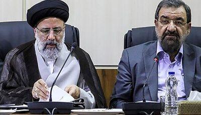 تبریک زودهنگام محسن رضایی به رئیسی قبل از اعلام نتایج انتخابات