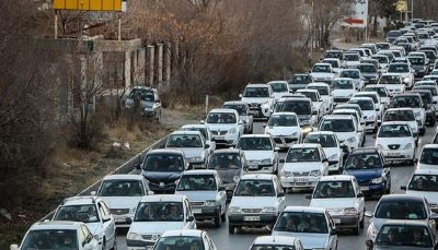 ترافیک سنگین در خروجی های تهران