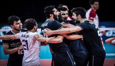 ترکیب تیم ملی والیبال ایران مقابل آرژانتین