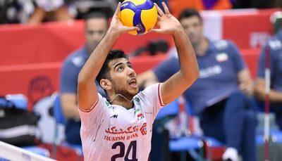 جواد کریمی به تیم ملی والیبال در ایتالیا ملحق میشود