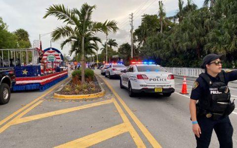 حمله خودرویی در فلوریدا