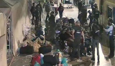 حمله وحشیانه زندانبانان صهیونیست به دهها اسیر فلسطینی