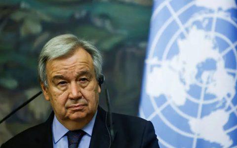دبیر کل سازمان ملل خواستار لغو تحریم های آمریکا علیه ایران شد