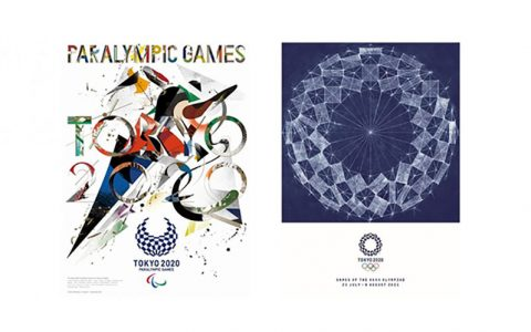رونمایی از پوسترهای بازیهای المپیک و پارالمپیک توکیو ۲۰۲۰