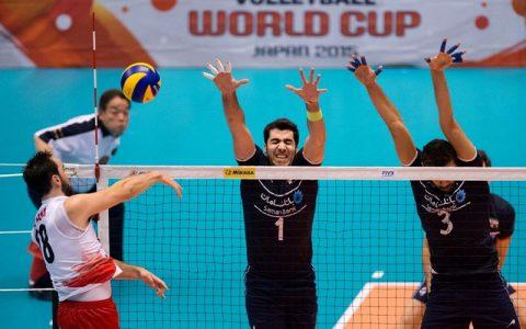 رویارویی والیبال ایران و کانادا
