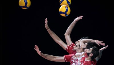 سقوط یک پله ای والیبال ایران در رده بندی زنده جهانی