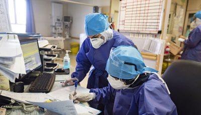 شناسایی ۱۰۱۰۰ بیمار جدید کرونایی