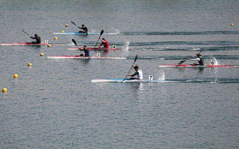 علی آقامیرزایی قایقران ایران در المپیک شد
