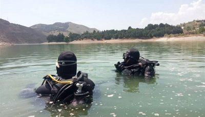 غرق شدن جوان ۲۵ ساله در آب سد کوچک