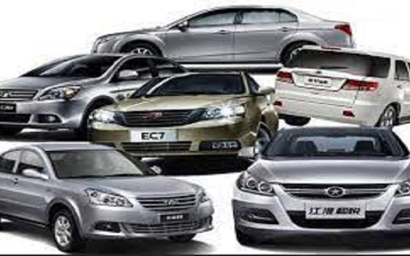 قیمت خودروهای چینی