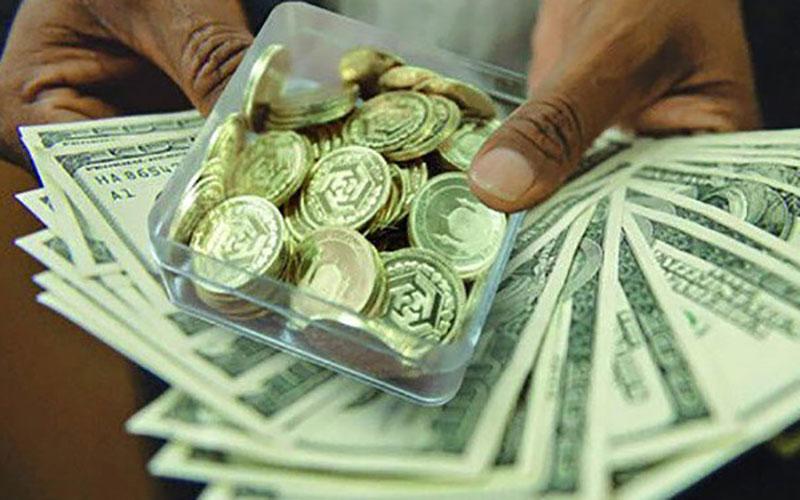 قیمت سکه، طلا و ارز ۱۴۰۰.۰۳.۱۸؛ بازار ریزشی شد