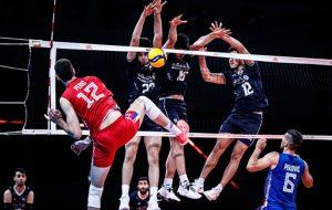 لیگ ملتهای والیبال؛ اعلام ترکیب ایران مقابل آلمان